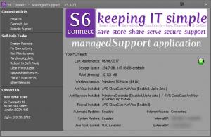 managedSupport screenshot