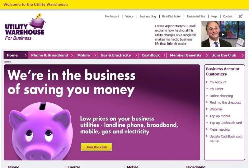 UW Business Club screenshot